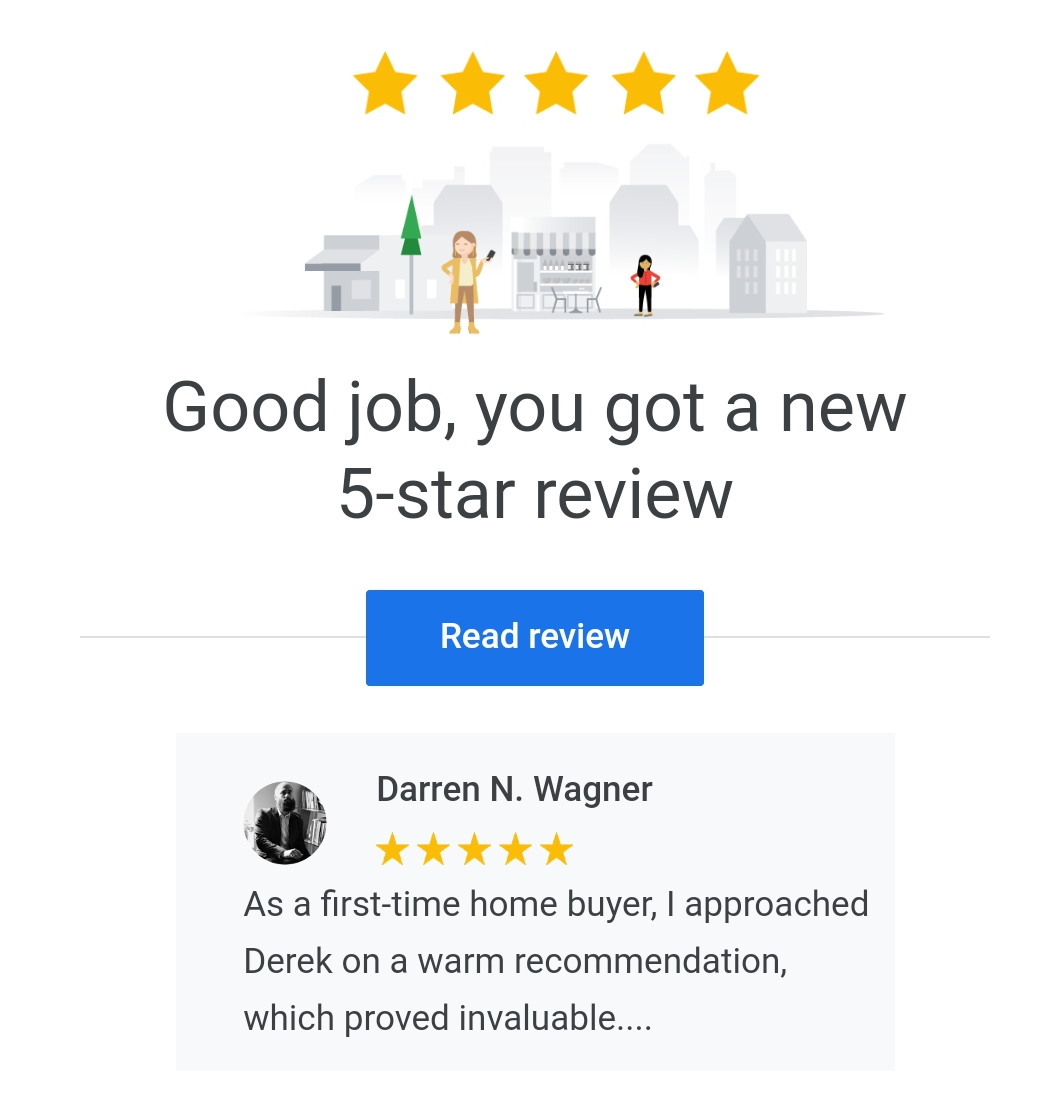 google business review for derek hulewicz top realtor with remax