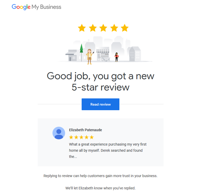 google review top edmonton realtors derek hulewicz