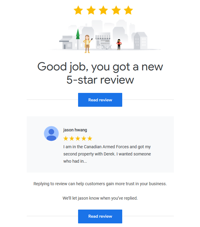 another google review for derek hulewicz top edmonton remax realtor
