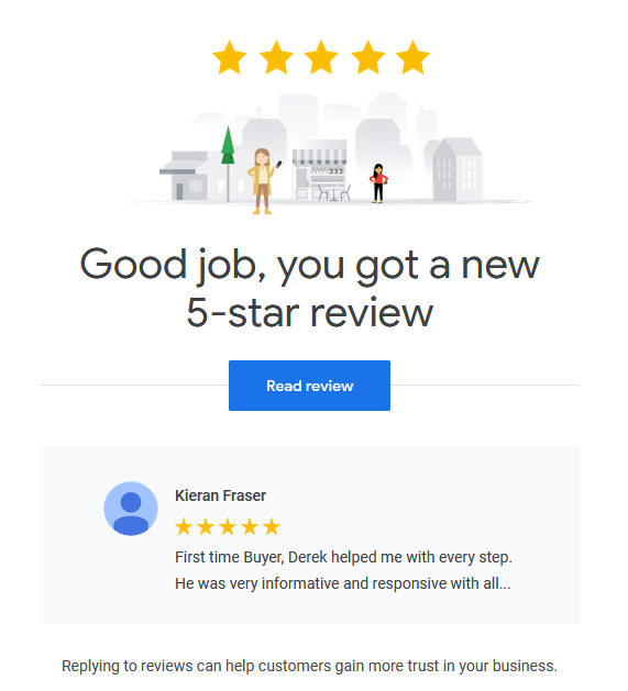 google review derek hulewicz top remax realtor