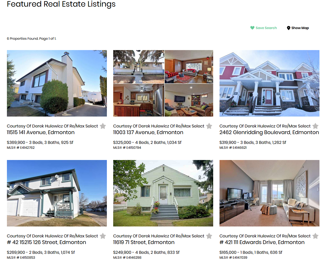 featured real estare listings