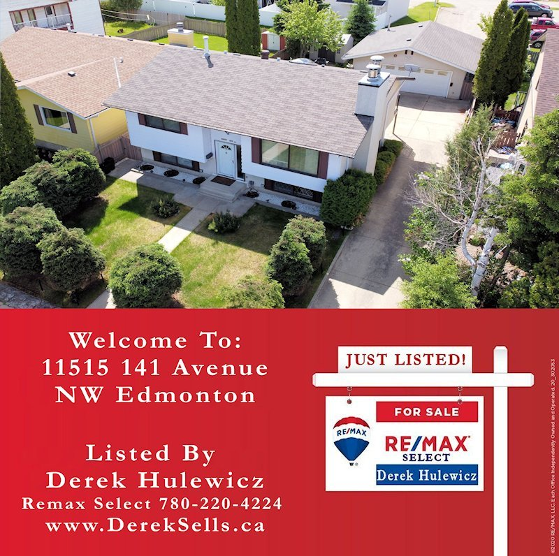 new listing 11515 141 avenue edmonton by derek hulewicz realtor with remax