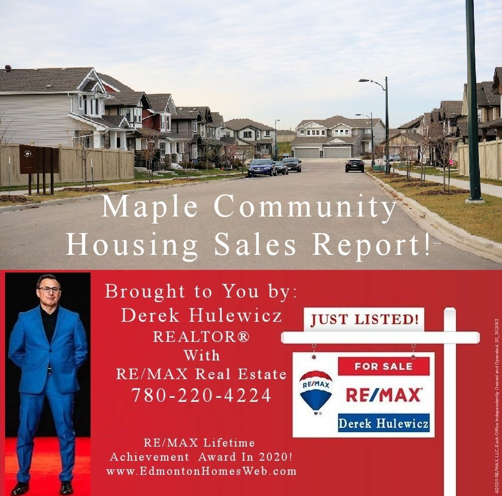 Homes Recently Sold In Maple Community!
