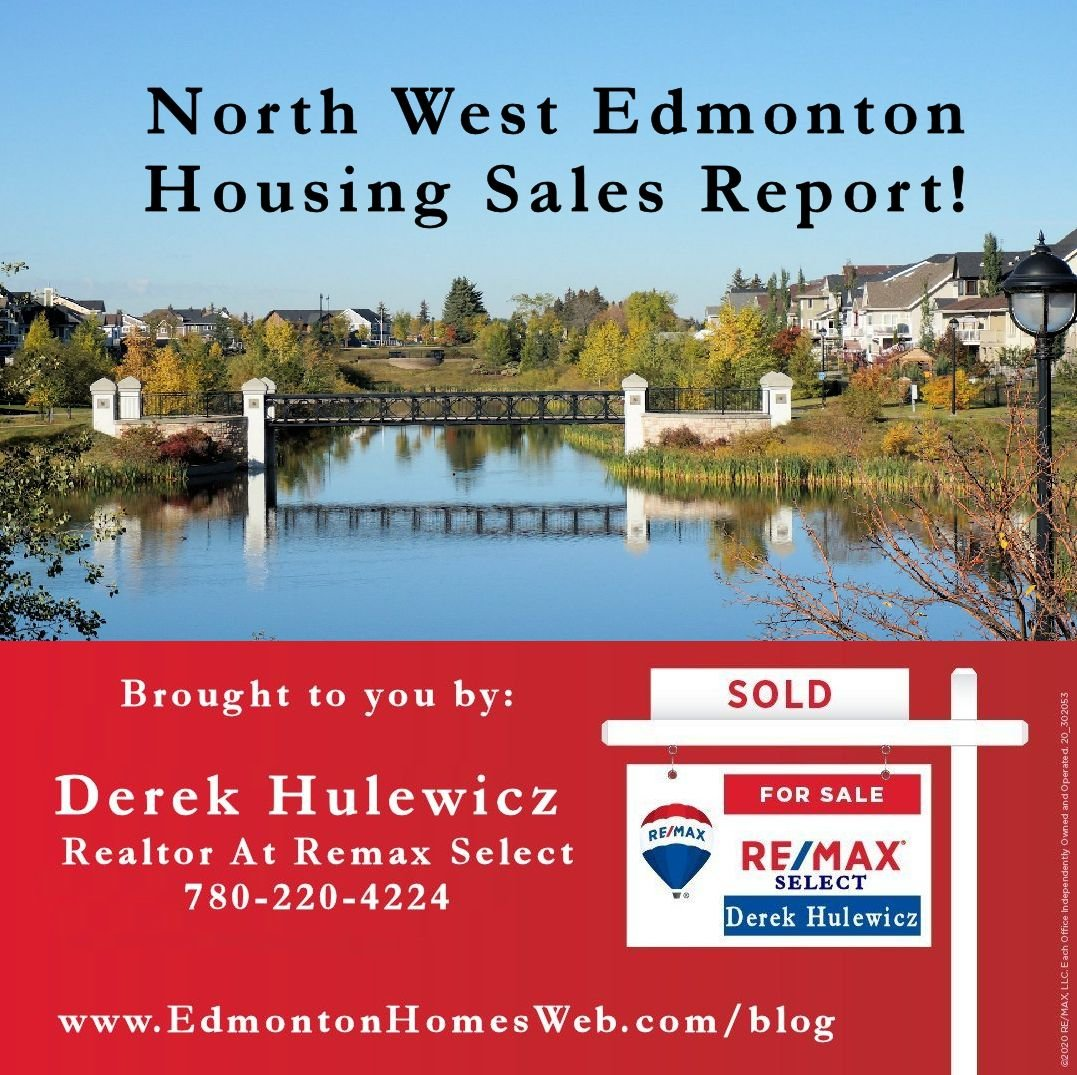 north west edmonton housing sales report