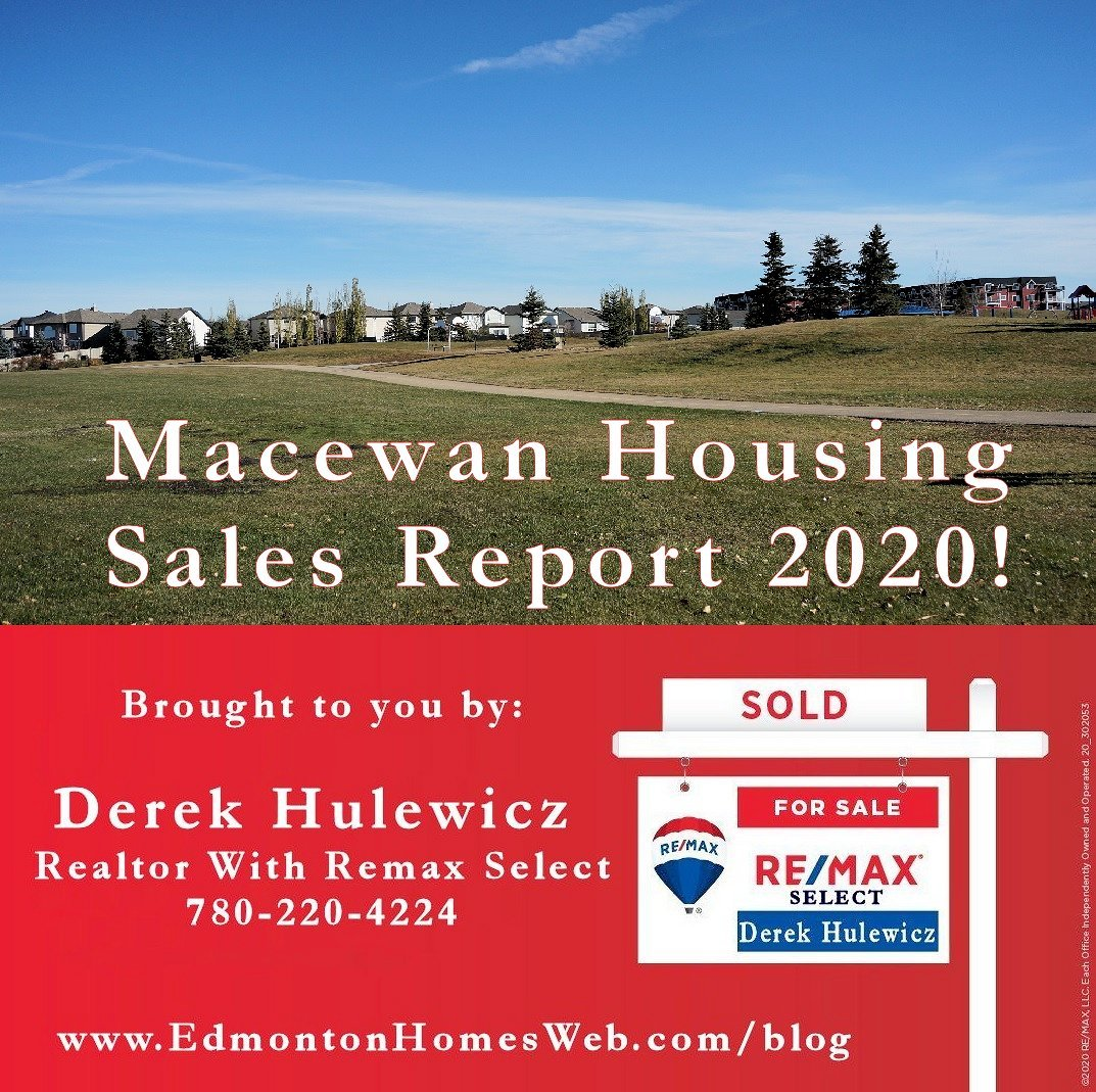 Homes Recently Sold In Macewan!