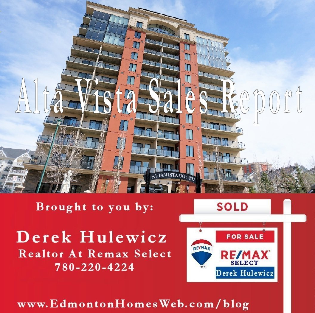 alta vista sales report by derek hulewicz realtor with remax