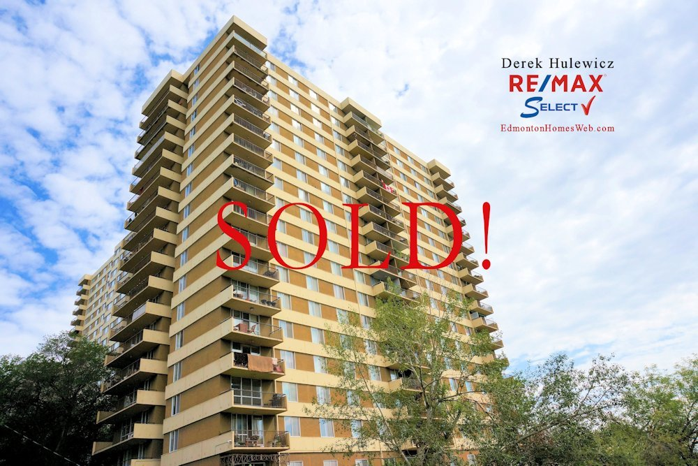 another condo sold in hillside estates downtown edmonton by derek hulewicz realtor