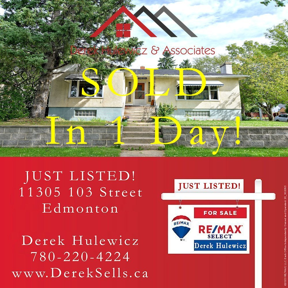 sold in spruce avenue by derek hulewicz top edmonton realtor