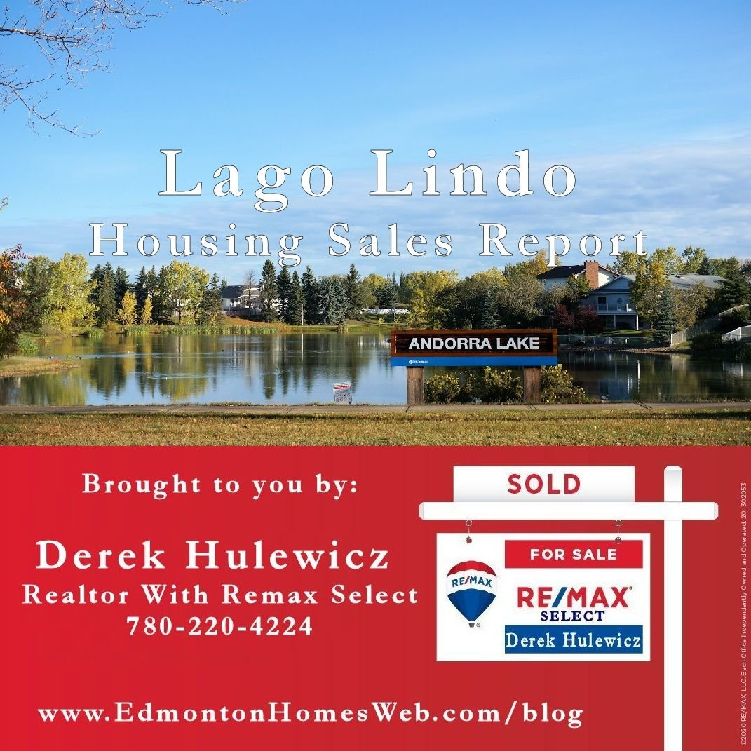 home sold in lago lindo edmonton