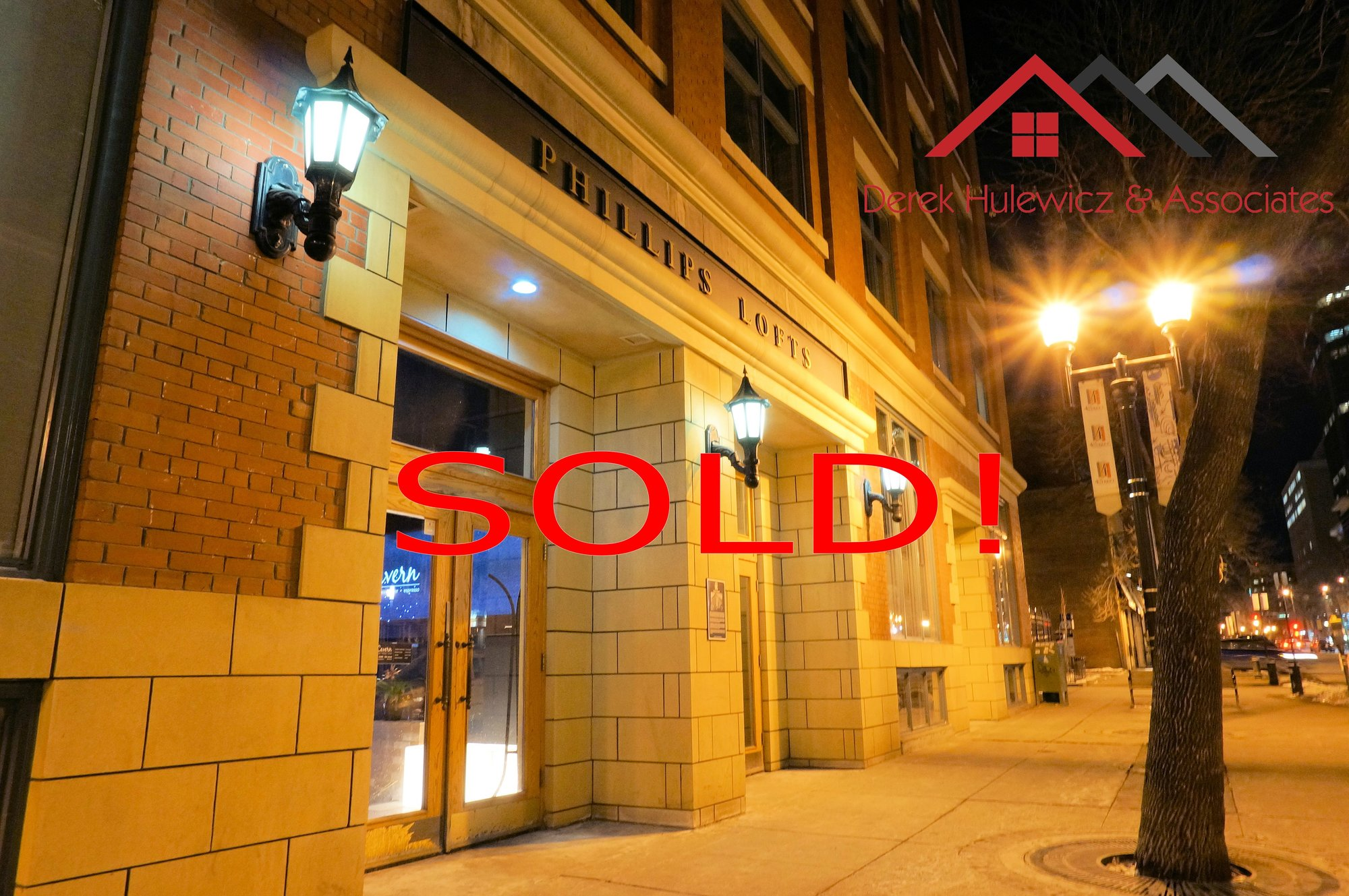 sold unit in phillips lofts