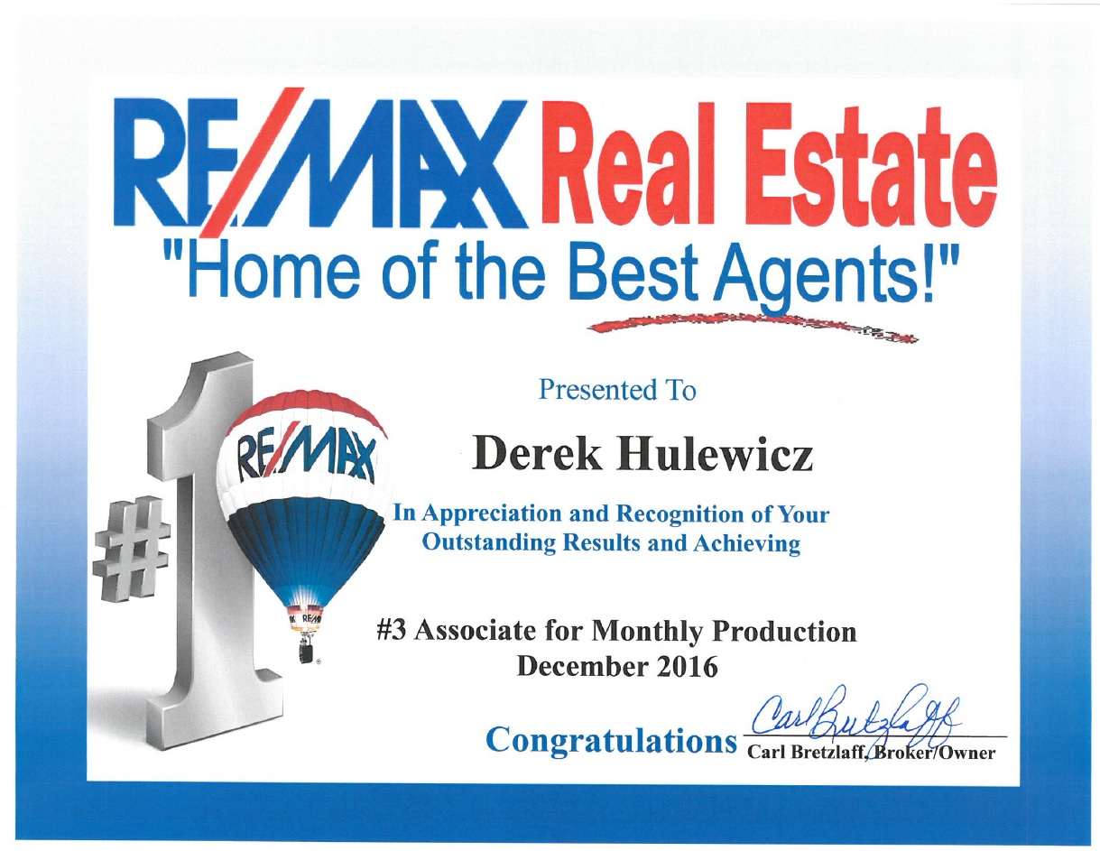 top edmonton remax relator in december 2016